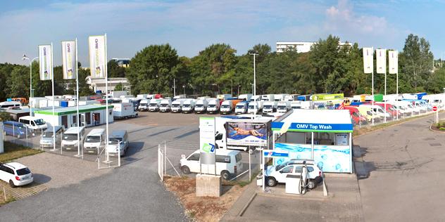 Bazar užitkových vozů Brno